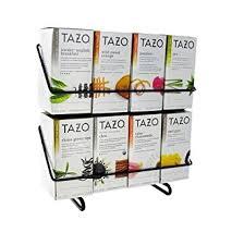 Tea Bag Display Stand Amazon Tazo Tea Bag Variety Pack With Display Stand 100 Ct 7