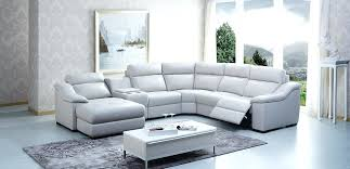 l shaped recliner sofa creative of genuine leather reclining sofa beds design pertaining to sectional recliner