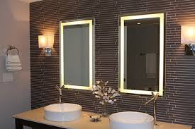 lighted mirror bathroom. Back Lighted Bathroom Mirrors And Best Benefits Backlit Mirror 2017 Images Contemporary
