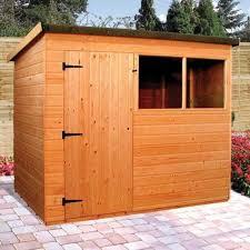 suffolk pent roof garden sheds
