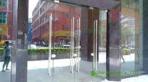 commercial exterior glass doors commercial glass front