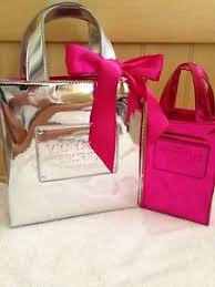 victorias secret pink silver holiday fall bags gift bow makeup bag storag in on alibaba