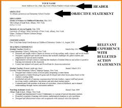 Example Career Objective For Resume Resume Career Objective Example Soaringeaglecasinous 13