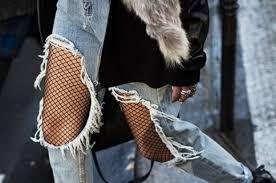 Resultado de imagen de medias rejilla moda 2017