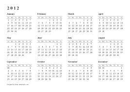 Annual Calendar 2015 2012 Calendar Annual Download 2019 Calendar Printable With