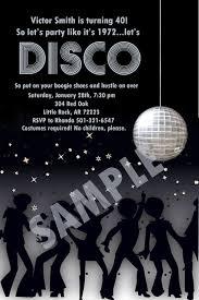 Disco Party Digital Invitation Idea In 2019 Disco Birthday