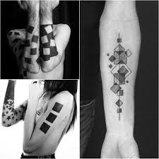 тату геометрия точность линий и строгость форм Tattoo Ideasru