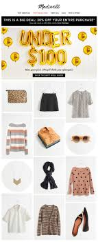 Email Newsletter Design Price Madewell Gifts By Price Email Newsletter Design Email