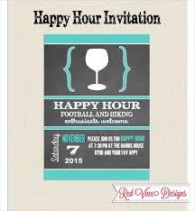 Happy Hour Invitation Template 14 Happy Hour Invitation Designs Templates Psd Ai Indesign