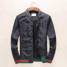 gucci men s jackets leather replica coats and
