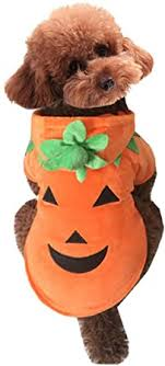 Mogoko Dog Cat Halloween Pumpkin Costume, Pet ... - Amazon.com