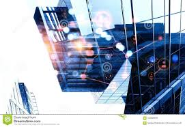Modern Business Lifestyle Stock Illustration Illustration