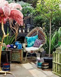40 bohemian patio decorating ideas to