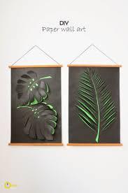 Diy Art Creative Ideas Diy Paper Leaf Wall Art Paper Wall Art Paper