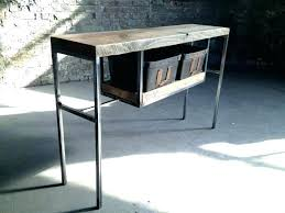 unfinished accent tables round side table with drawer reclaimed coffee wood console accent wrought iron tables