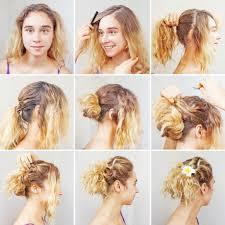 Jednoduché Složené Kurz Pro Kudrnaté Vlasy Stock Fotografie Apid