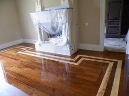 Hardwood floor inlay Homes Floor Plans