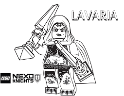 Small Picture Lavaria Coloring Page Printable Sheet LEGO Nexo Knights