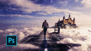 Cloud Photoshop How To Make A Fantasy Photo Manipulation Walking In The Clouds