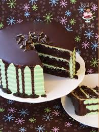 Bird A Cake Andes Mint Chocolate Cake with Ganache
