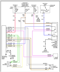 radio wire colors jeepforum com for any who here s a factory radio wiring diagram for the 1990 yj