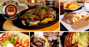 while many mexican restaurants offer generic decor amorelia s brick walls and classical paintings on one side of its