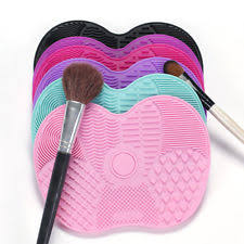 silicone makeup brush cleaner. silicone makeup brush cleaner pad washing scrubber board cleaning hand mat tool r