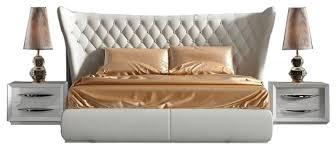 Miami Modern 3-Piece Bedroom Set, Carmen White - Transitional ...