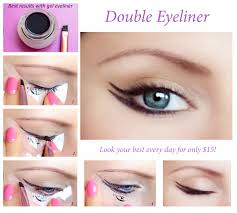 quick eye makeup stencils eyeliner by quickmakeupstencils on etsy