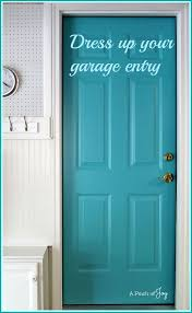 dress up your garage entry a pinch of joy paint the door between your garage and house a fun and weling color