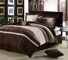 over sized brown bed sets