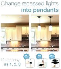 new recessed light to pendant thehappyhuntleys com regarding change plans 10