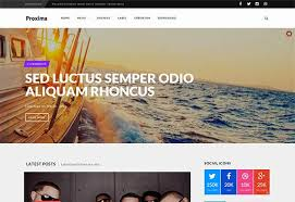 responsive blogger templates proxima responsive blogger template themexpose