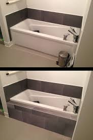 how to make tiled shelf on front of bathtub photo2 jpg