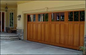 wood garage door. Carriage Style Wood Garage Doors Door