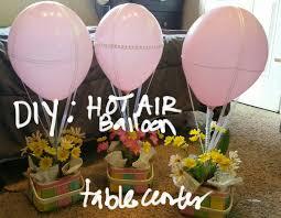 diyhot air balloon table centeryou