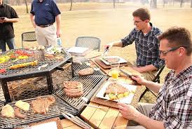 south african influence the barbecue table was invented by ex pat gert coetzer