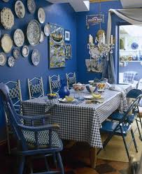 Blue Country Dining Room Dining Room Decorating Ideas Lonny - Country dining rooms
