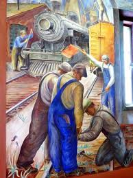 Image result for murals san francisco wpa