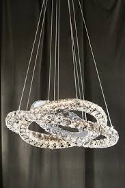 coronas led 3 ring pendant from the