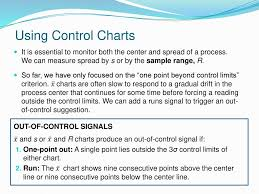 Trigger Control Chart Chapter 31 Statistical Process Control Ppt Download