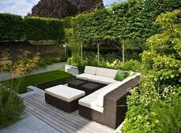 outdoor garden ideas. Gallery Of Small Modern Garden Ideas With Outdoor Furniture For B