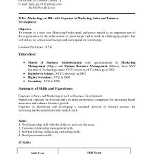 Career Objective Of Resume For Freshers In It 1 Elrey De Bodas