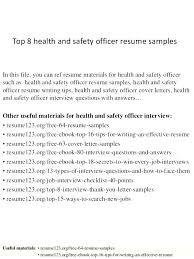 Safety Officer Resume Sample Safety Manager Resume Samples Officer Template Post Professional