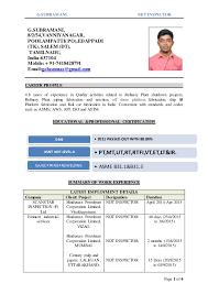 G Subramani Ndt Inspector