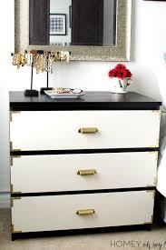 campaign style dresser. Campaign Style Dresser IKEA Malm Makeover Inside