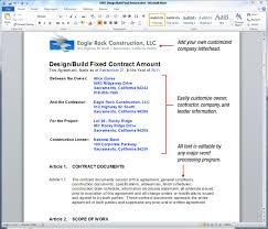 Uda Constructiondocs - Design-Build Construction Contract Templates