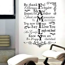 Wall Decal Stickers Quotes Wall Ideas Writing Wall Decor Wall