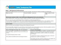 Personal Development Plan Template Free – Gemalog