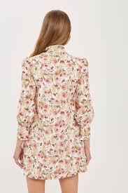 Printed Shirt Dress Topshop